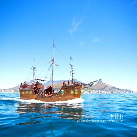 Yacoob Yachts Sail Away on Jolly Rogers Pirate Boat: Cape Town Tours
