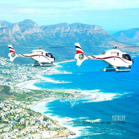 Fly Cape Town Helicopters: Cape Town Air Tourism: Cape Town Helicopter Tours