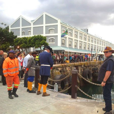 Chavonnes Battery Museum runs the Official Historical Walking Tour of V&A Waterfront