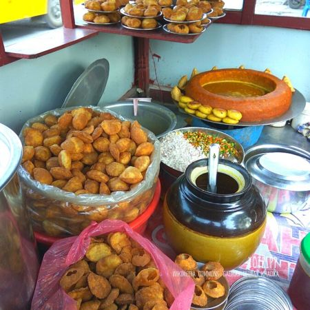 Spicy Tangy delicious Pani Puri Stalls in Ahmedabad
