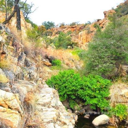 Rocks, Boulders & Walking Paths on Milorho Hiking Trail near Joburg
