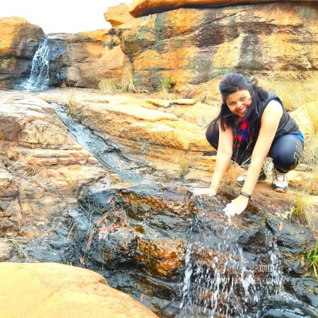 Waterfalls and streams along the Milorho Hiking Trail, Moderate Difficult hiking trail near Joburg