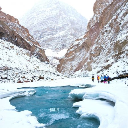 Thick and Thin Ice Shifts Makes Chadar Trek a Dangerous One