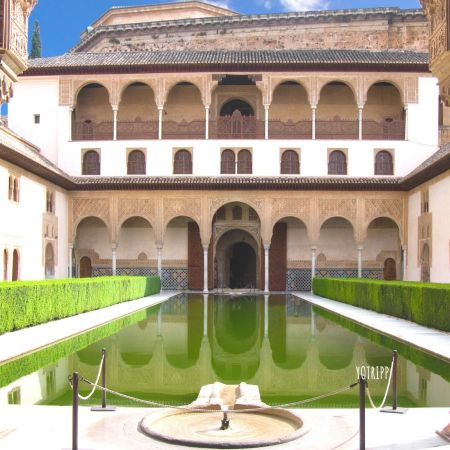 Alhambra Palace, Granada, Spain - Inner Palace Living Quarters